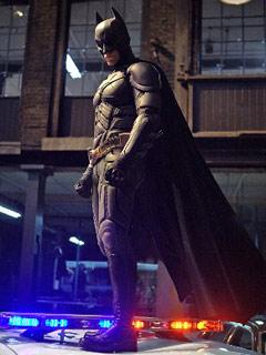 El nuevo traje de Batman en The Dark Knight